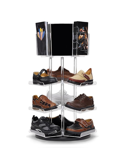 Acrylic Display for Footwear