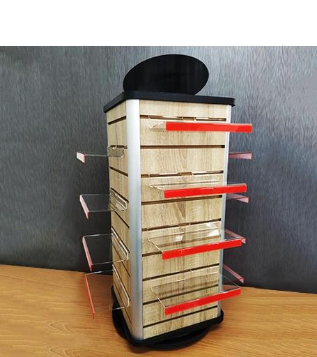 桌上型木頭鞋架